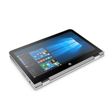 HP Pavilion 13-U135TU x360 Z4Q58PA 13.3 Inch 2In1 Laptop (Core i7 7th Gen/8GB/256GB/Win 10/Touch) Silver Price in India