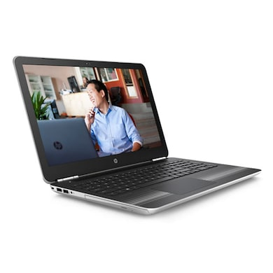HP Pavilion 15-AU006TX W6T19PA 15.6 Inch Laptop (Core i5 6th Gen/8GB/1TB/Win 10/4GB Graphics) Silver Price in India