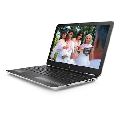 HP Pavilion 15-AU111TX Y4F74PA 15.6 Inch Laptop (Core i5 7th Gen/8GB/1TB/Win 10/2GB Graphics) Silver Price in India