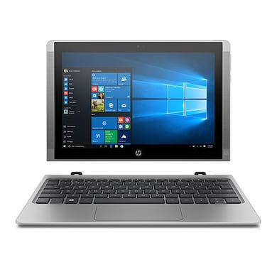 HP Pavilion x2-10-n125tu T0X75PA 10.1 Inch 2in1 Laptop (Intel Atom 5th Gen/2GB/500GB/Win 10/Touch) Silver Price in India
