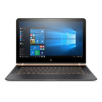 HP Spectre 13-V122TU Y4G64PA 13.3 Inch Laptop (Core i7 7th Gen/8GB/512GB SSD/Win 10 Pro) Dark Ash Silver Price in India