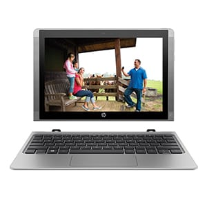 Buy HP X2 210 T6T50PA Detachable 10.1 Inch 2 in 1 Laptop (Intel Atom/2GB/32GB eMMC/Win 10/Touch) Online