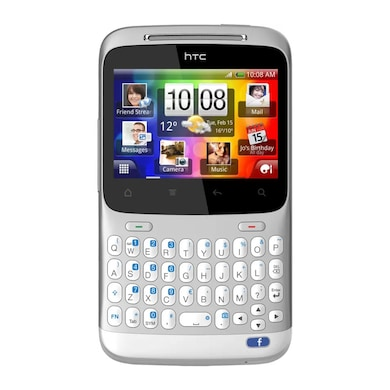 Refurbished HTC ChaCha (Silver, 512MB RAM, 512MB) Price in India