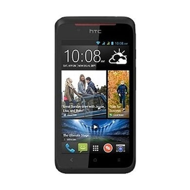 Refurbished HTC Desire 210 Dual Sim (Black, 512MB RAM, 4GB) Price in India