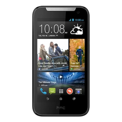 Refurbished HTC Desire 310 (White, 512MB RAM, 4GB) Price in India