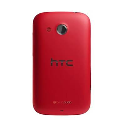 Refurbished HTC Desire C (Red, 512MB RAM, 4GB) Price in India
