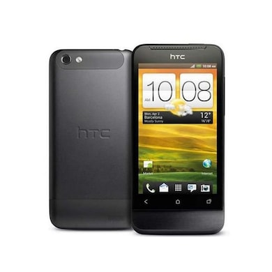 Refurbished HTC One V (Black, 512MB RAM, 4GB) Price in India