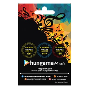 Buy Hungama Music Card Online