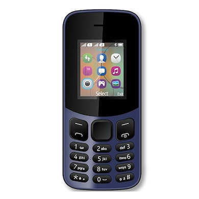 I KALL K12 New, 800 mAh battery, MP3 And MP4 Player Supported (Dark Blue) Price in India