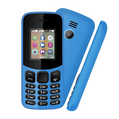 I KALL K12 New, 800 mAh battery, MP3 And MP4 Player Supported (Light Blue) Price in India