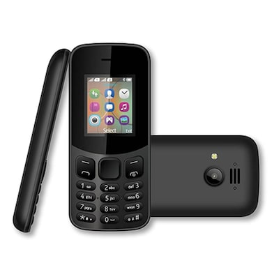 I KALL K12 New, 800 mAh battery, MP3 And MP4 Player Supported (Black) Price in India