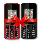 Buy I KALL K12 New Combo, 800 mAh battery, MP3 And MP4 Player Supported Black and Red Online