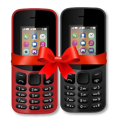 I KALL K12 New Combo, 800 mAh battery, MP3 And MP4 Player Supported (Black and Red) Price in India
