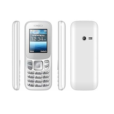 I Kall K16, 1.77 Inch Display,Camera,Bluetooth,FM (White) Price in India