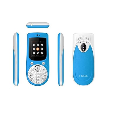 I Kall K18, 1.77 Inch Display,Camera,Bluetooth,Dual SIM (Light Blue) Price in India