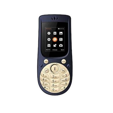 I Kall K18, 1.77 Inch Display,Camera,Bluetooth,Dual SIM (Dark Blue) Price in India