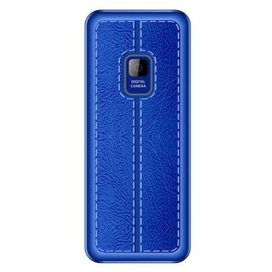 I Kall K20 FM Radio, Bluetooth,Dual Sim,8GB Expandable Memory (Black and Blue) Price in India