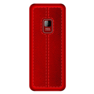 I Kall K20 FM Radio, Bluetooth,Dual Sim,8GB Expandable Memory (Black and Red) Price in India