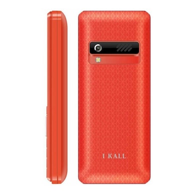 I Kall K2180 Selfie Combo with Camera,FM Radio,1000 mAh Battery (Red and Blue) Price in India