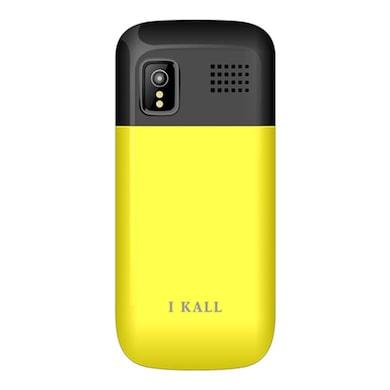 I Kall K29 1.8 Inch Display,VGA Camera,FM Radio (Yellow) Price in India