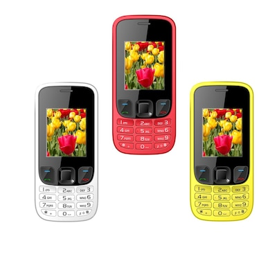 I Kall K29 Set of 2 with 1.8 Inch Display,VGA Camera,FM Radio (Assorted) Price in India