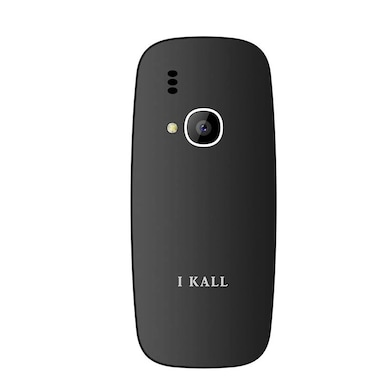 I Kall K301, 1.77 Inch Display,Camera,Bluetooth,Dual SIM (Black and Gold) Price in India