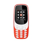 Buy I Kall K3310 1.8 Inch Display, FM, Torch, Bluetooth, 1000 mAh Battery Orange Online