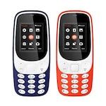 Buy I Kall K3310 Combo Of Two Mobile Dark Blue and Red Online