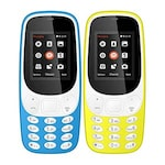 Buy I Kall K3310 Combo Of Two Mobile Yellow and Light Blue Online