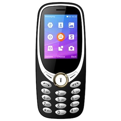 I Kall K3311 2.4 Inch TFT Display,FM Radio, Dual Sim,Camera (Silver) Price in India