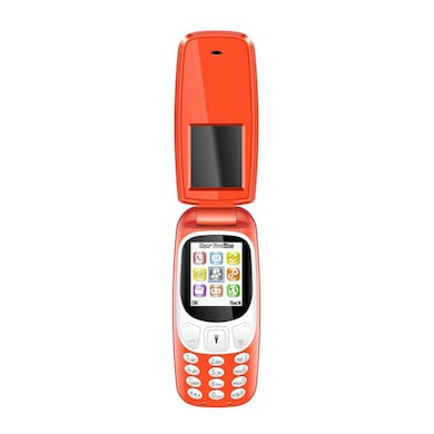 I Kall K3312 1.8 Inch Display, Camera, FM Radio, Bluetooth (Red, 64MB) Price in India