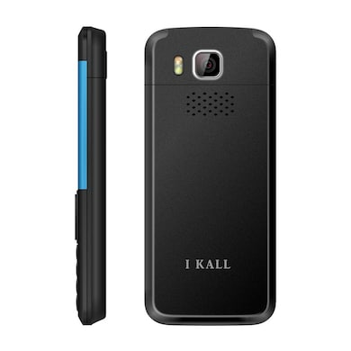 I Kall K5310 Dual Sim, 1.8 Inch Display,1000 mAh Battery,FM, Bluetooth (Black and Blue, 64MB) Price in India