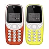 Buy I Kall K71 Combo of Two Mobile Red and Yellow Online