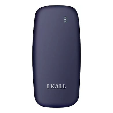 I Kall K71 Combo of Two,USB Connectivity,1000 mAh Battery (Dark Blue and Yellow, 64MB) Price in India