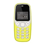 Buy I Kall K71 Feature Phone Yellow Online