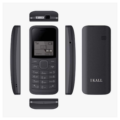 I Kall K73 1.44 Inch Display, Torch, Single Sim (Black) Price in India