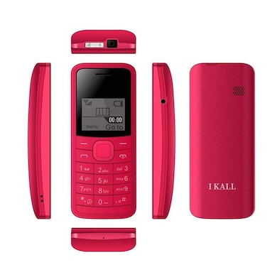 I Kall K73 1.44 Inch Display, Torch, Single Sim (Red) Price in India