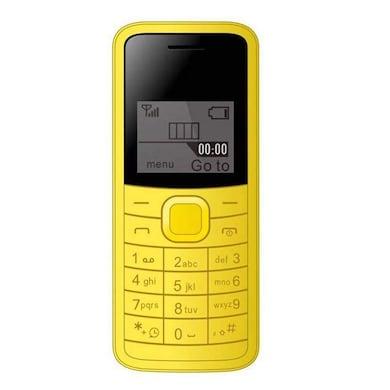 I Kall K73 1.44 Inch Display, Torch, Single Sim (Yellow) Price in India