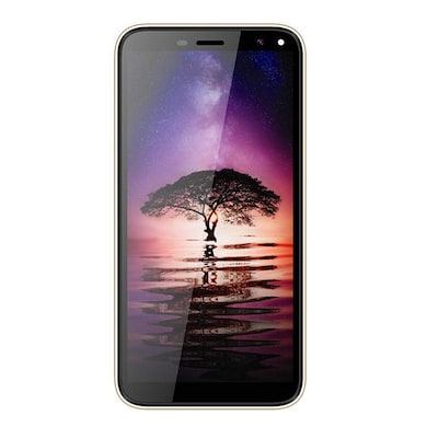 I Kall K7 Infinity Screen 4G Android Phone (Golden, 1GB RAM, 8GB) Price in India
