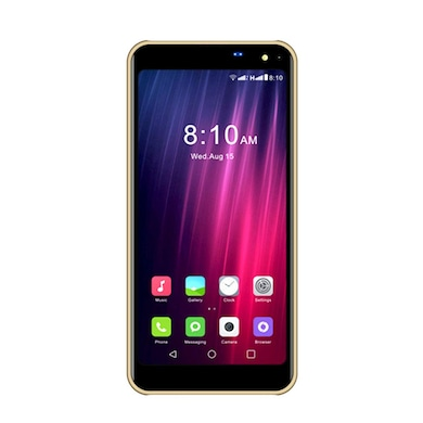 I Kall K8 New 4G Android Phone (Gold, 2GB RAM, 16GB) Price in India