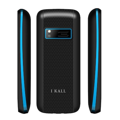 I Kall K88 Combo Of Two Mobile (Red and Blue, NA) Price in India