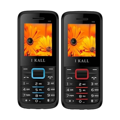 I Kall K88 Combo Of Two Mobile (Red and Blue) Price in India