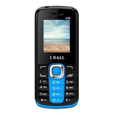I Kall K99 1.8 Inch Display,Dual Sim (Black and Blue, 256MB&Below RAM) Price in India