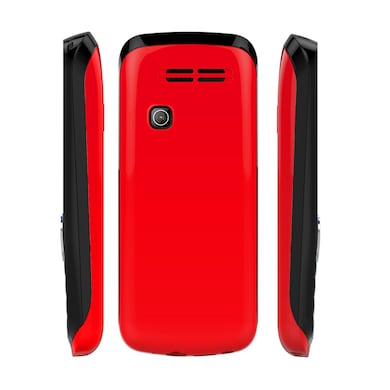 I Kall K99 1.8 Inch Display,Dual Sim (Black and Red, 256MB&Below RAM) Price in India