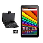 Buy I Kall N1 With Keyboard 3G + Wifi Voice Calling Tablet White, 4GB Online