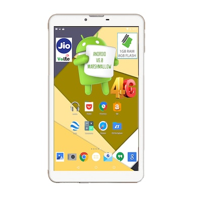 I Kall N4 VoLTE 4G + Wifi Voice Calling Tablet White, 8GB Price in India