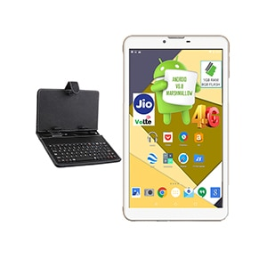 I Kall N4 VoLTE 4G + Wifi Voice Calling Tablet With Keyboard White, 8GB