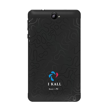 I Kall N4 VoLTE 4G + Wifi Voice Calling Tablet Black, 16GB Price in India