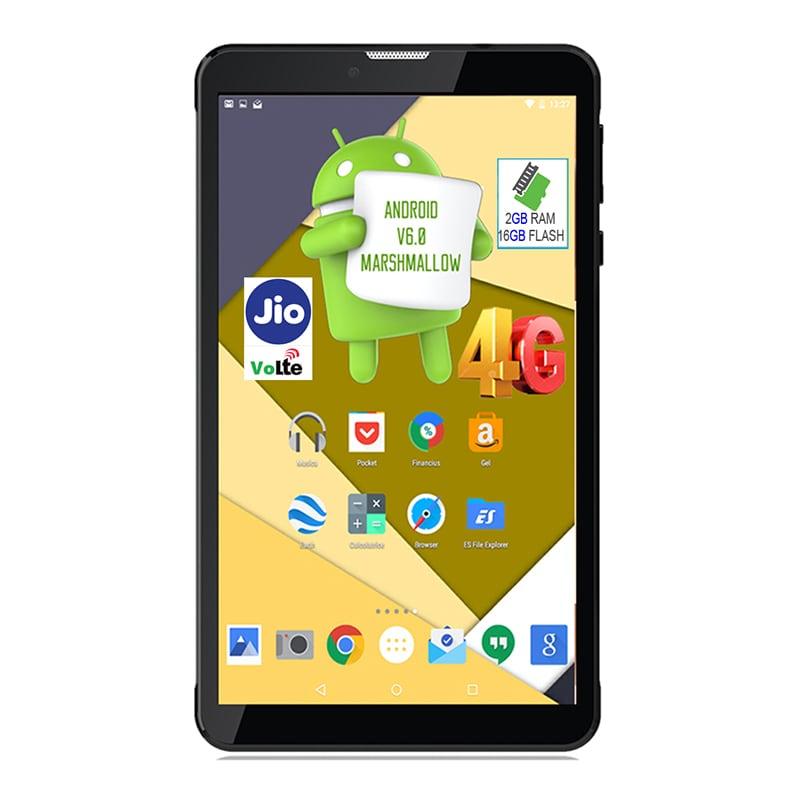 Buy I Kall N5 VoLTE 4G Wifi Voice Calling Tablet Black, 16 GB online