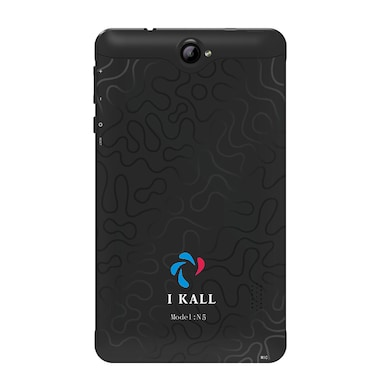 I Kall N5 VoLTE 4G Wifi Voice Calling Tablet Black, 16 GB Price in India